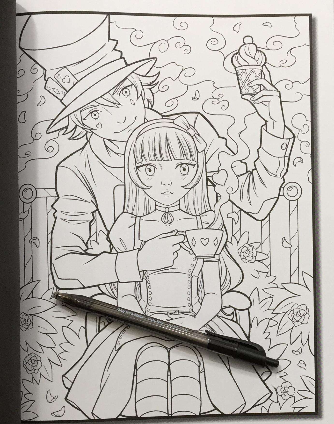 Second Alice In Wonderland By Jade Summer Printed One Side Of Page Iiiireader Book Reviews