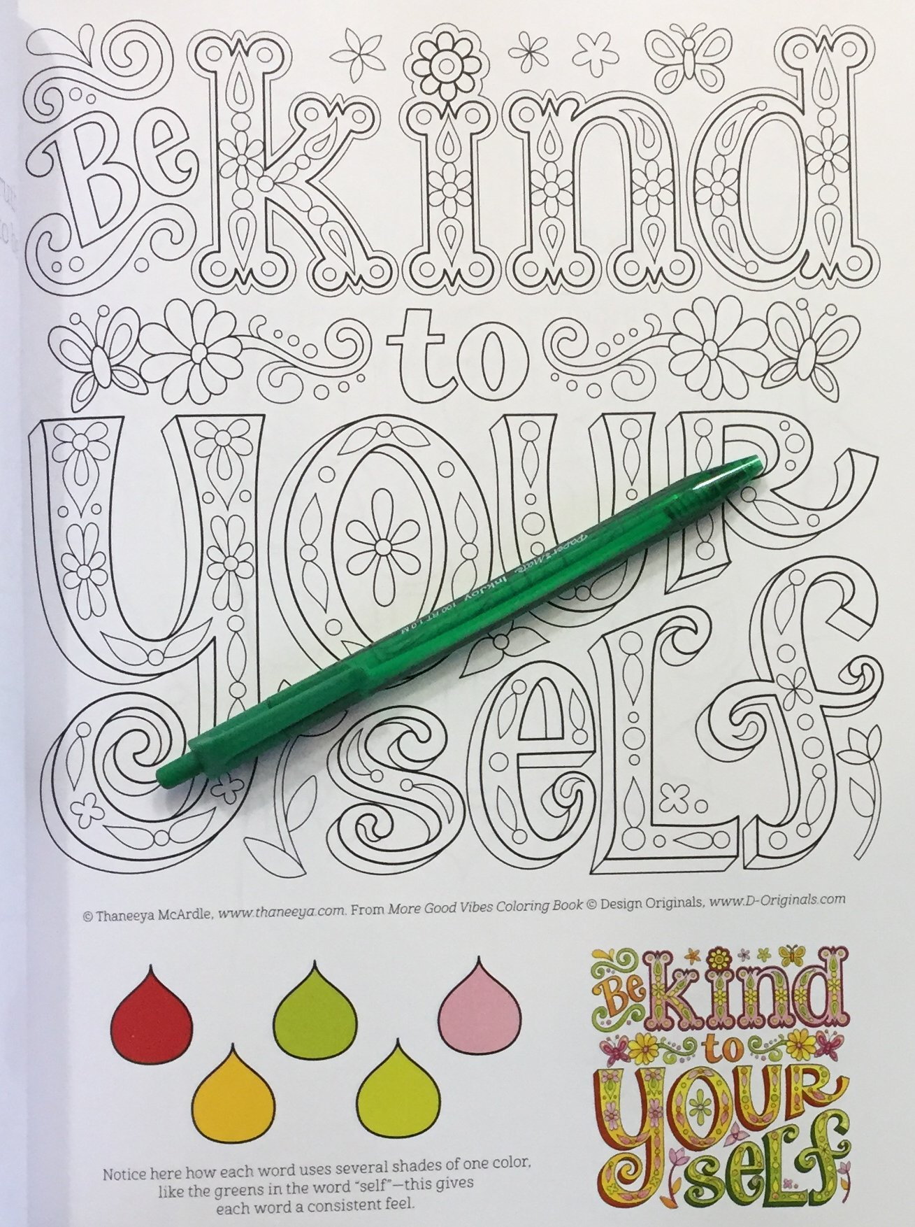 Here Are Some Sample Photos From The Coloring Book