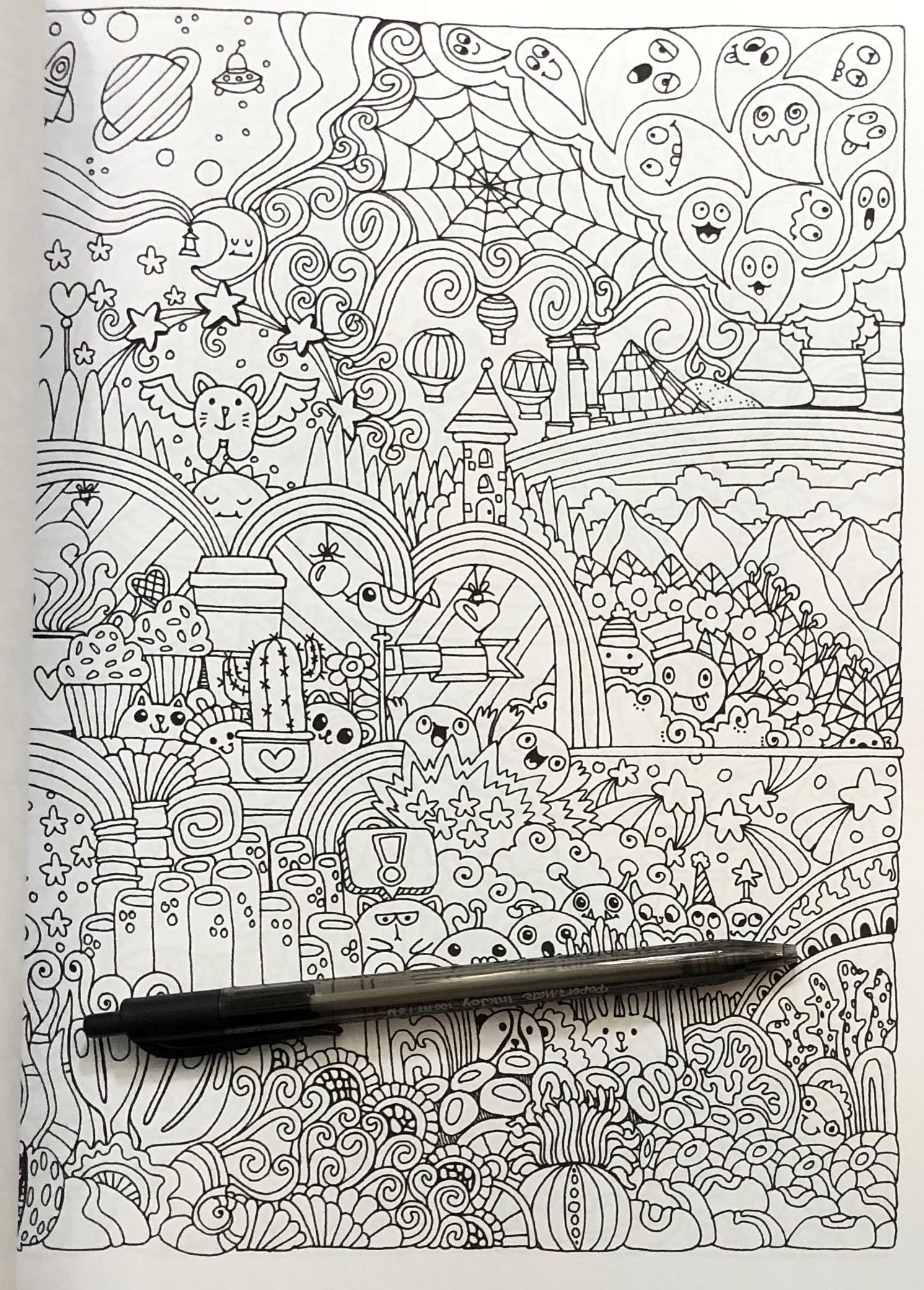 Bildergebnis für Angela porter coloring pages   Coloring pages ...   2081x1491