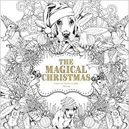 the magical christmas is a smaller format book 85 x 85 inches the designs are extremely detailed with many small and intricate spots to color