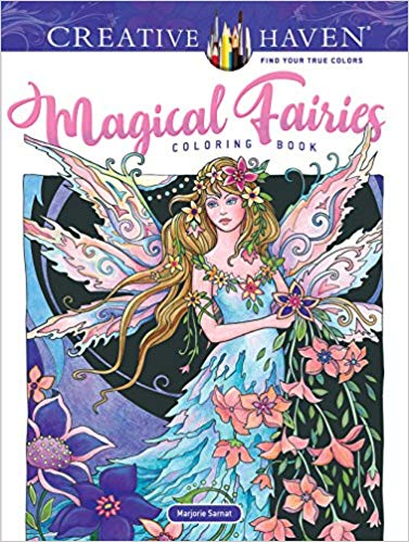 I Own A Variety Of Coloring Books By Majorie Sarnat But It Is Only In Recent That The Artist Has Begun Including Figures Her Designs